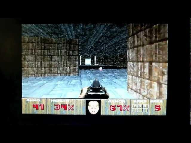 Doom gameplay on the Atari Jaguar – Retrounlim