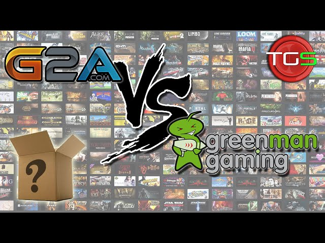 G2A vs Green Man Gaming – Battle of the Mystery Steam Key