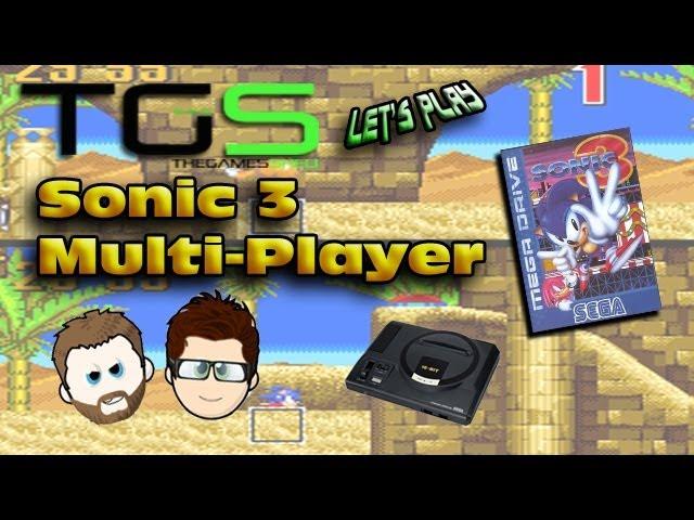 Let's Play Sonic the Hedgehog 3 – Sega Mega Drive – Mark VS Jamie