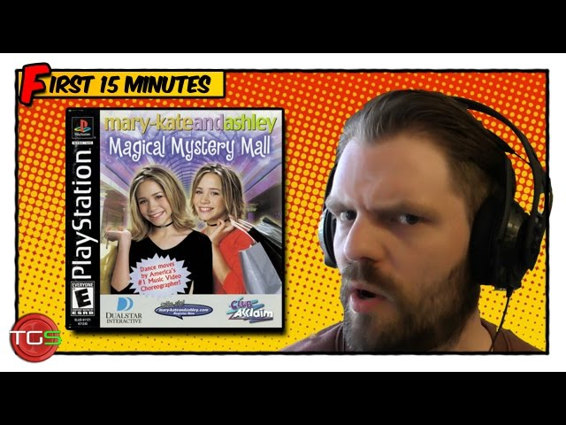Mary-Kate & Ashley - Magical Mystery Mall (PS1) - OMFG!!! - The Game Shed