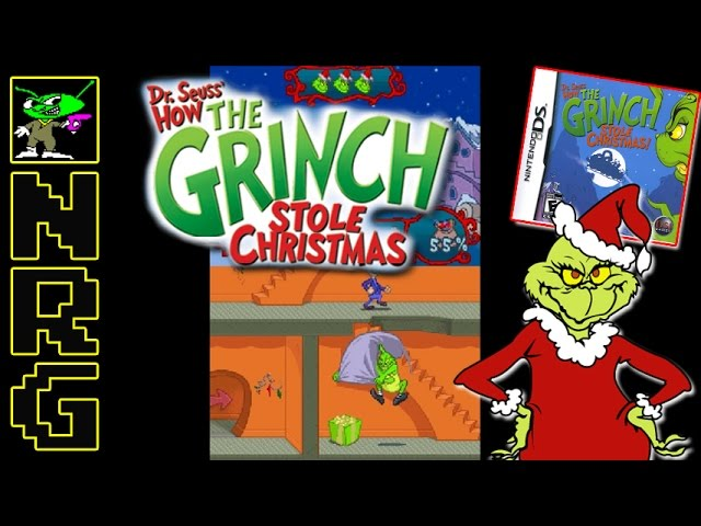 nrg 5 10 minutes of gameplay how the grinch stole christmas nintendo ds novabug - How The Grinch Stole Christmas Youtube