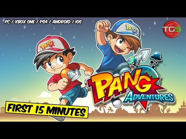 Pang Adventures (First 15 Minutes) – PC / PS4 / Xbox One / Android