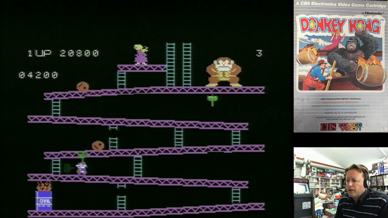 Retro Colecovision Games (Frogger & Donkey Kong) Pickup