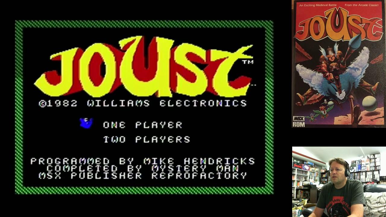 Retro Homebrew Computer Games (Joust, Codename Intruder MSX) 23rd