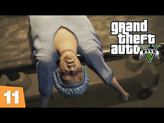 SEXY MORGUE PARTY – GTA V 'Dead Man Walking' – FIRST PERSON
