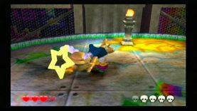 Wario World Dinomighty Stage 1 Final Boss Nintendo Gamecube