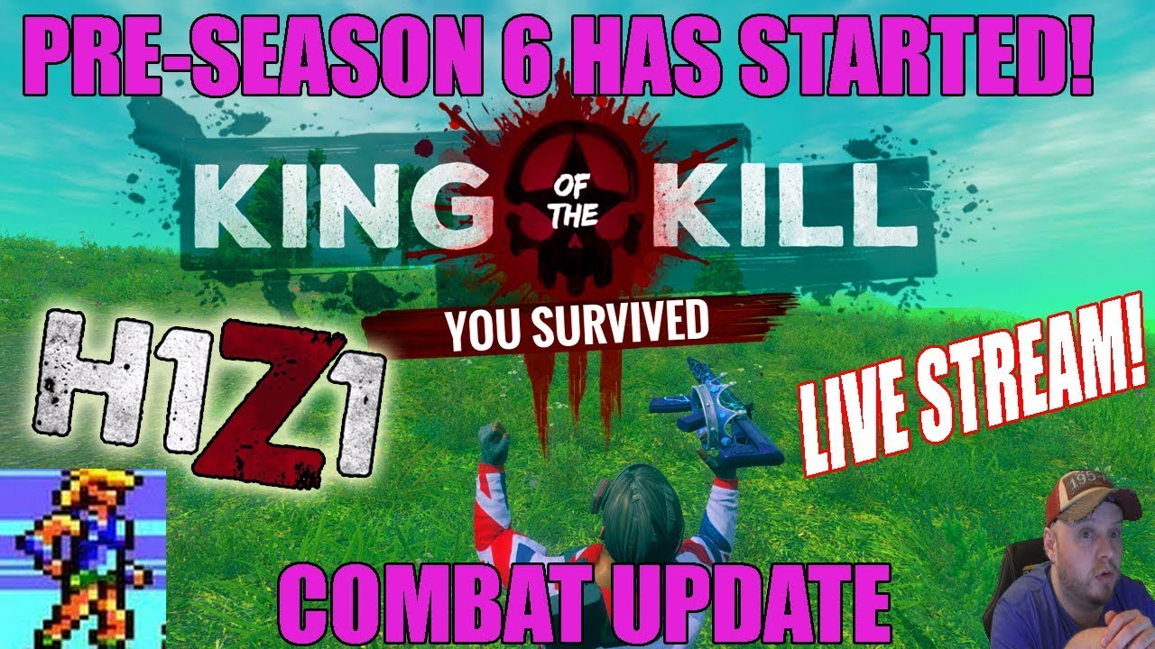 H1Z1 King Of The Kill] A 4 Kill Win Today! (Quick Highlights
