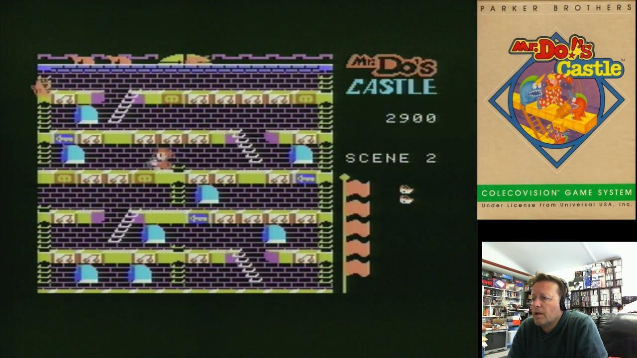 Retro Coleco Homebrew Games (Mazezam, Kungfu Master, Hole In One