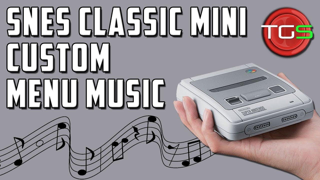 SNES Classic Mini – How To Upload Custom Menu Music