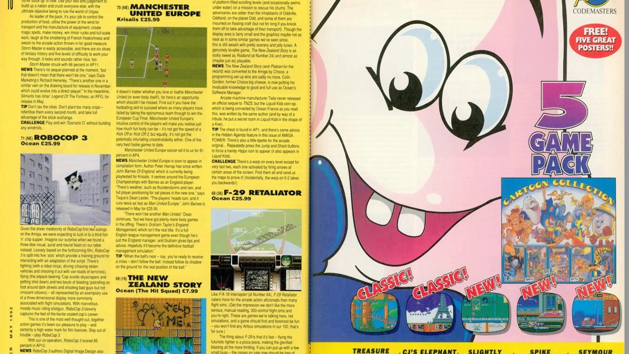 Computer Video Game Magazines Amiga Power Retrounlim