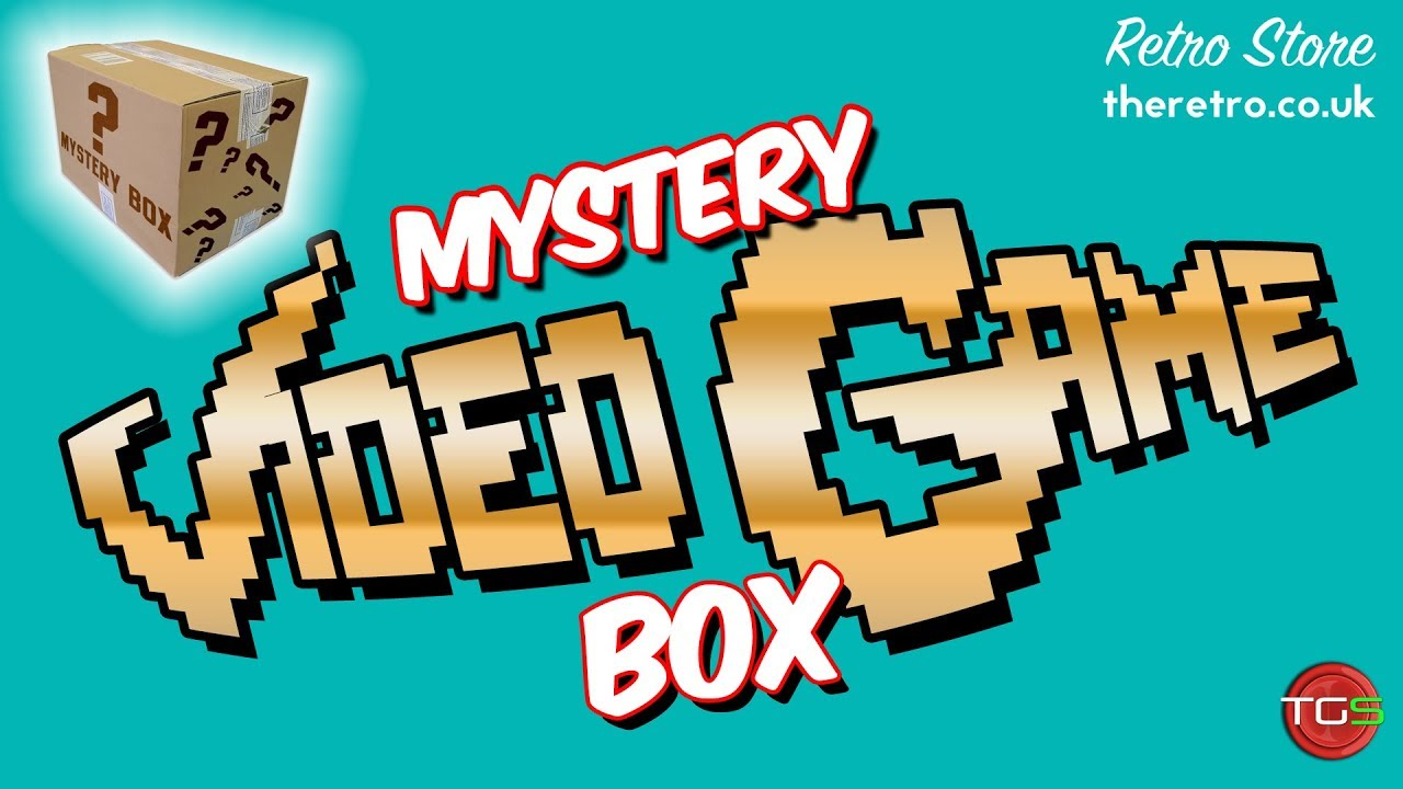 The Retro Store Mystery Video Game Box Unboxed The Game
