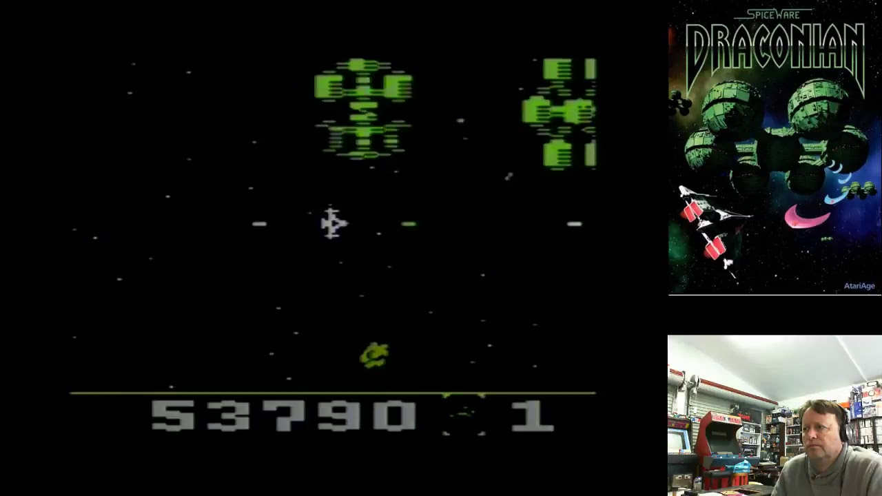 Electric Adventures Live Stream – Draconian Atari 2600 Test