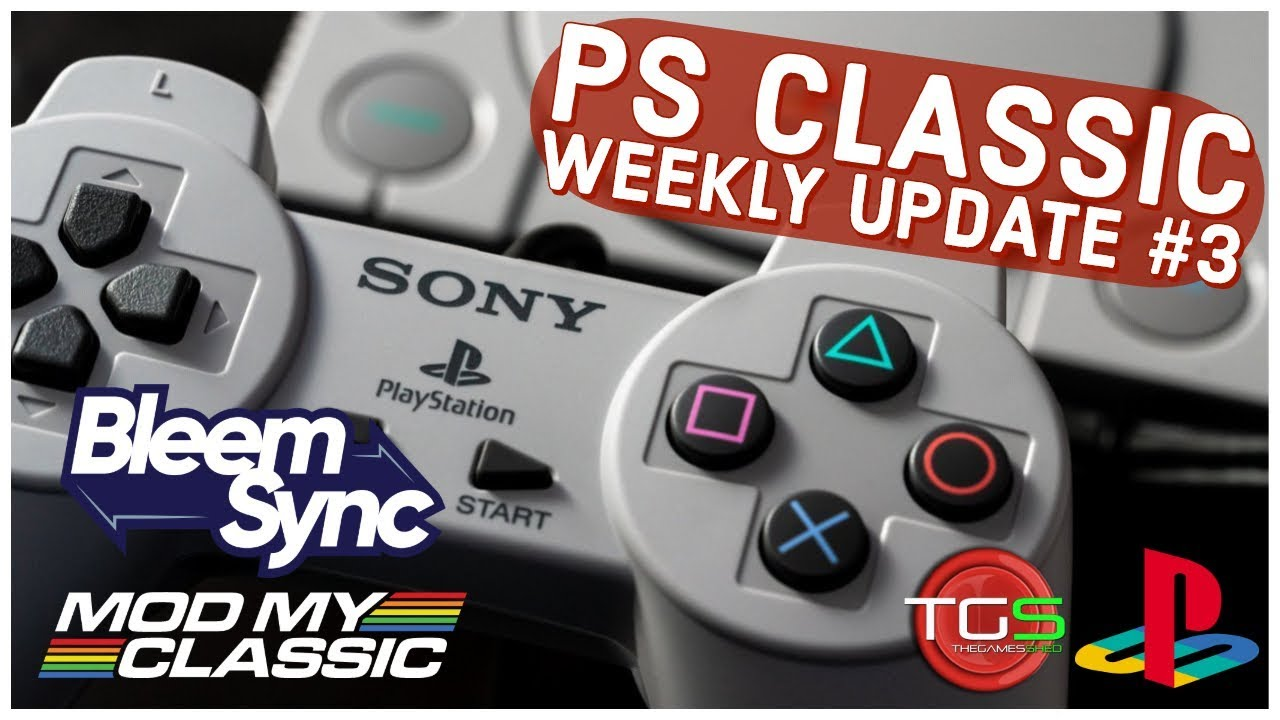 PS Classic Weekly Update #2 – Bleemsync 1 0 on its way! – Retrounlim