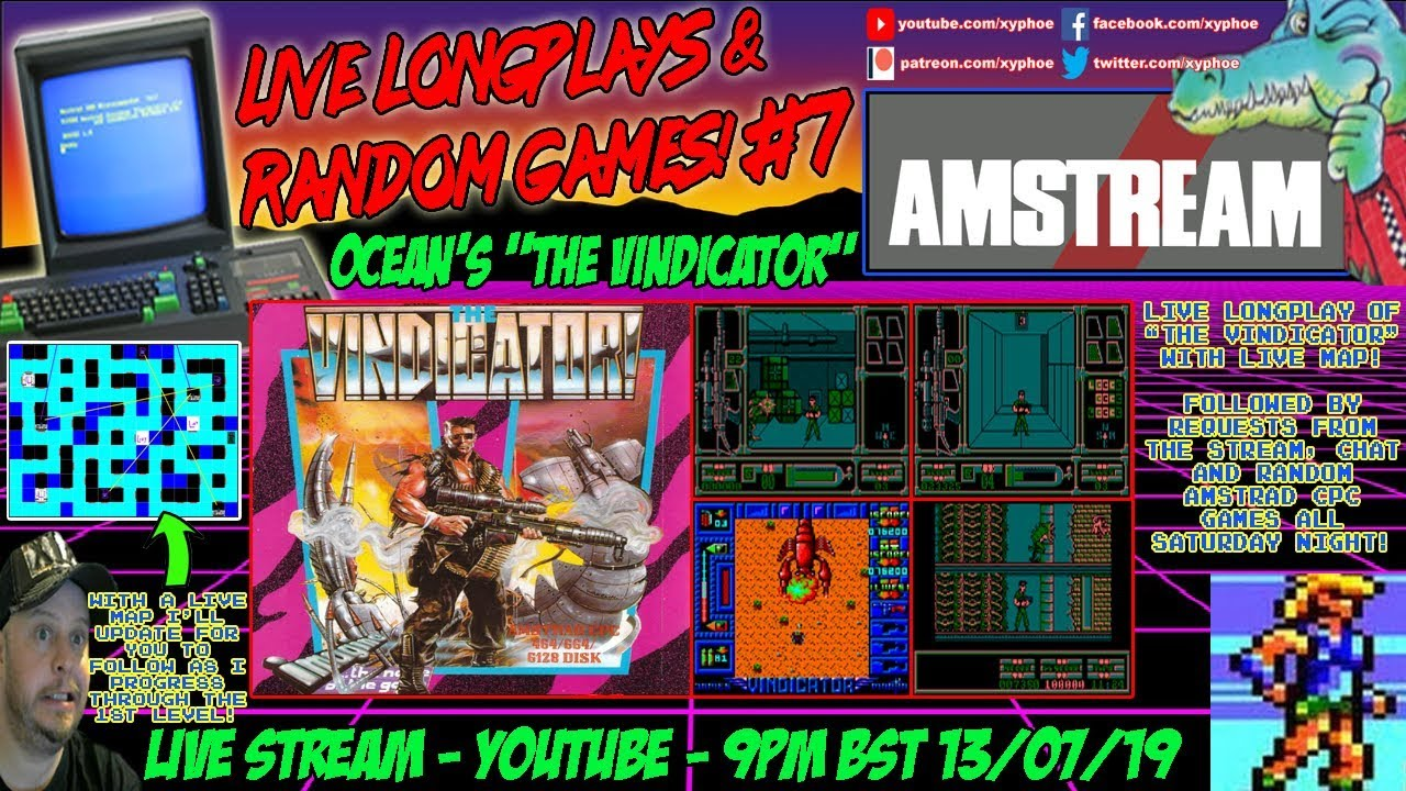 AMSTRAD CPC] ANYTHING GOES AMSTREAM! #4 Requests, Random
